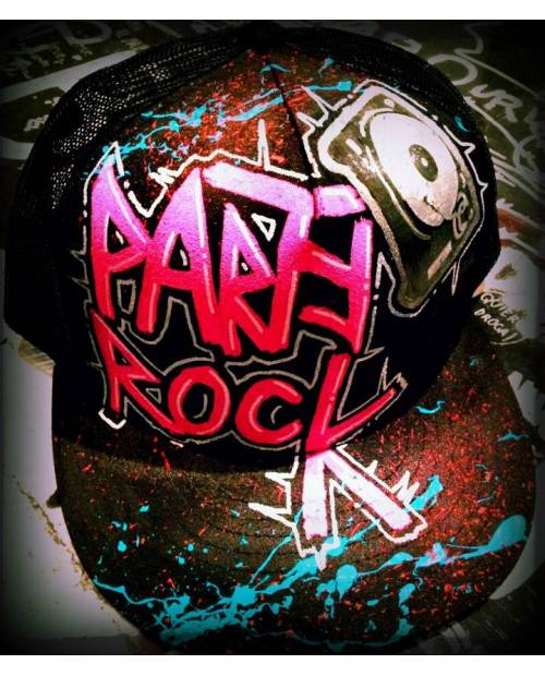 Casquette Design Party Rock Street Art