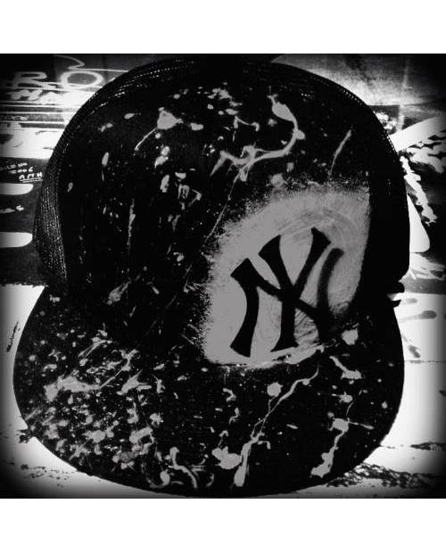 Casquette Grise NY