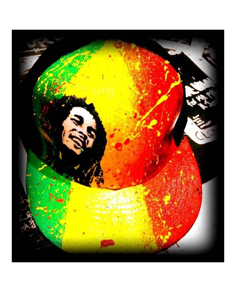 New Era Personnalisée Bob Marley