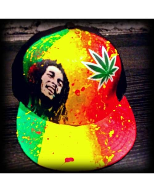 Casquette Cannabis Bob Marley