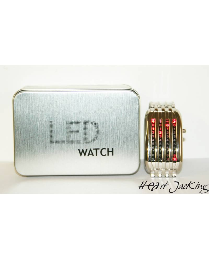 Shows Red LED Matrix