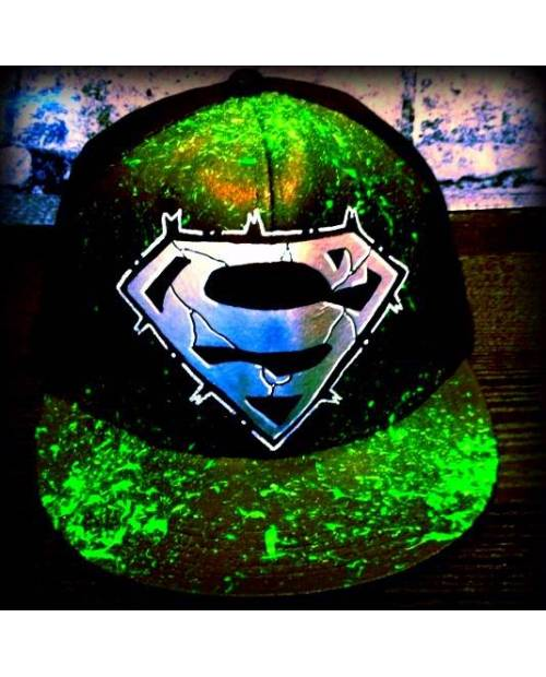 Casquette customisable Superman