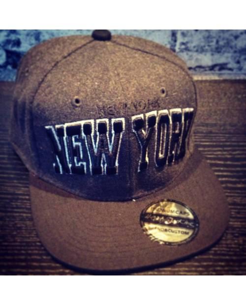 Casquette New York Noir