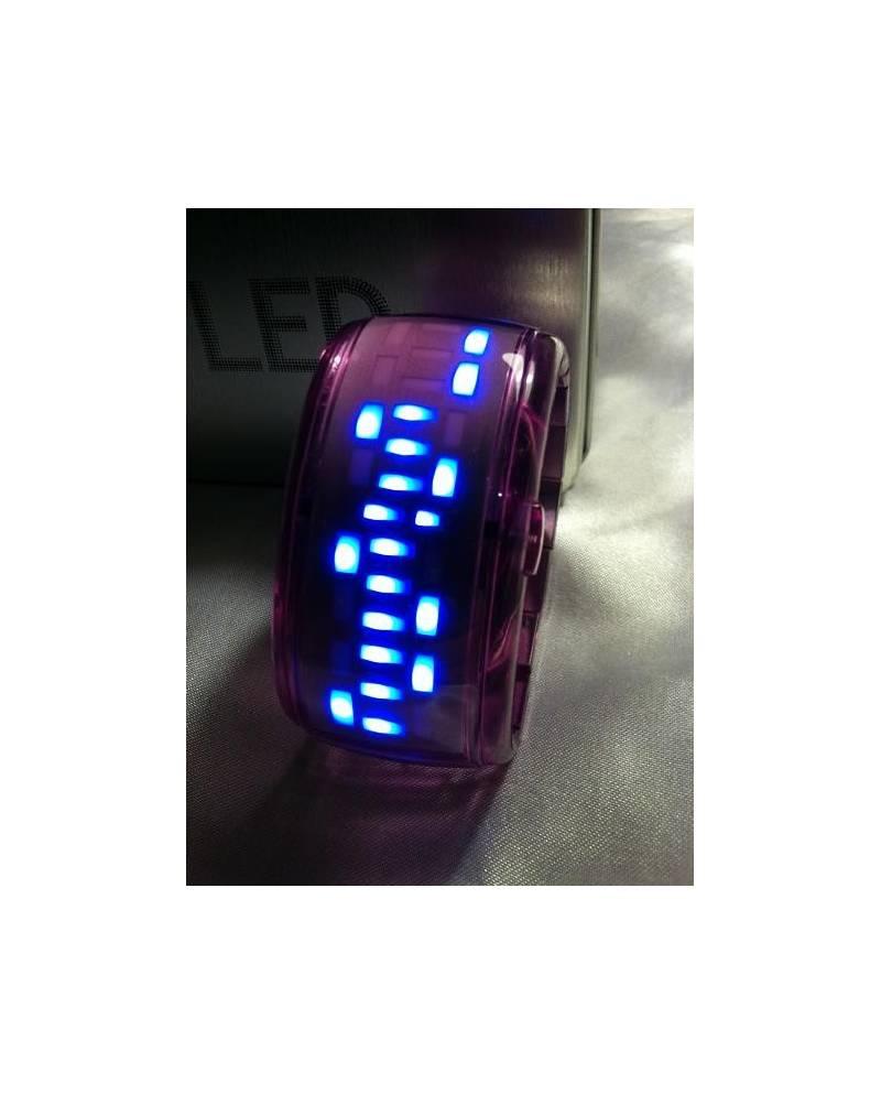 Digital Watch Violet
