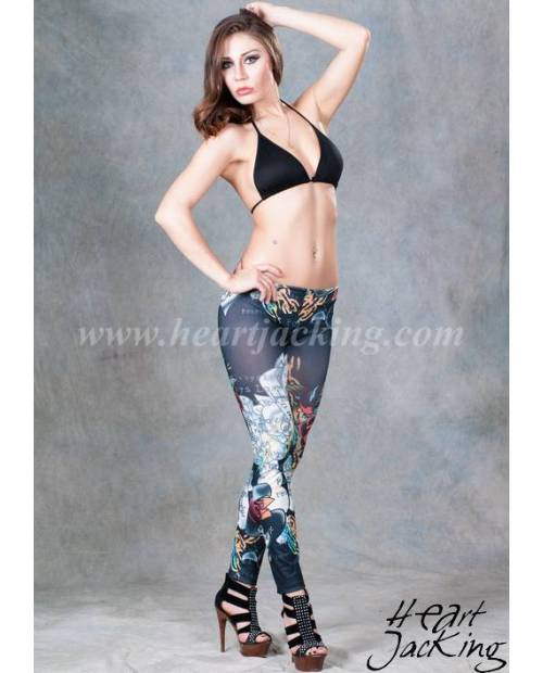 Leggings Motif Ed Hardy