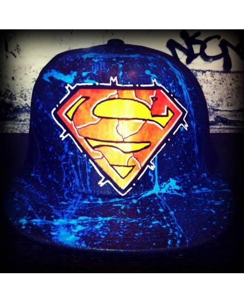 Casquette Customisée Superman