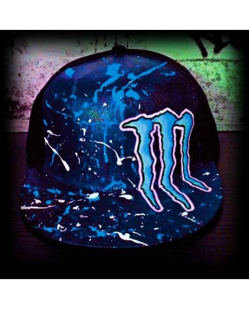 Casquette USA : Monster