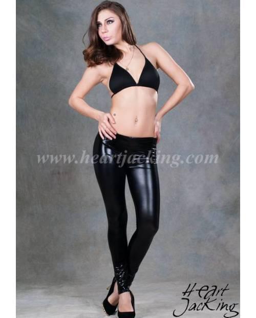 Leggings Noir Cuir