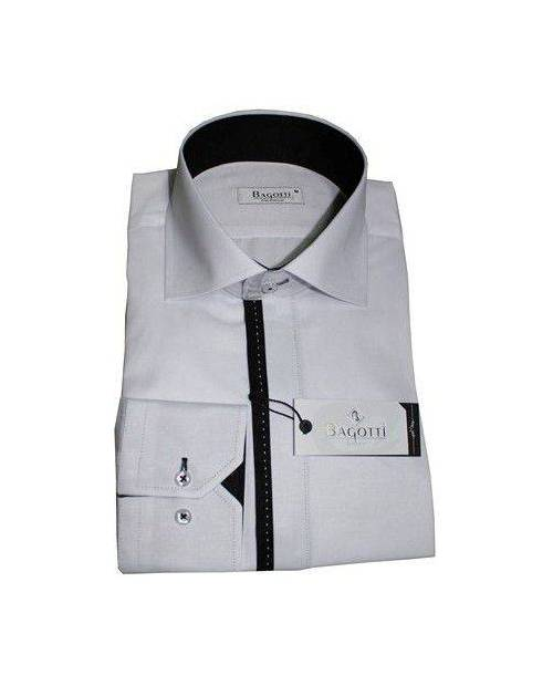 Chemise Droite Homme Blanche