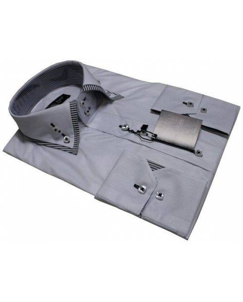 Refined Grey Shirt Fashion