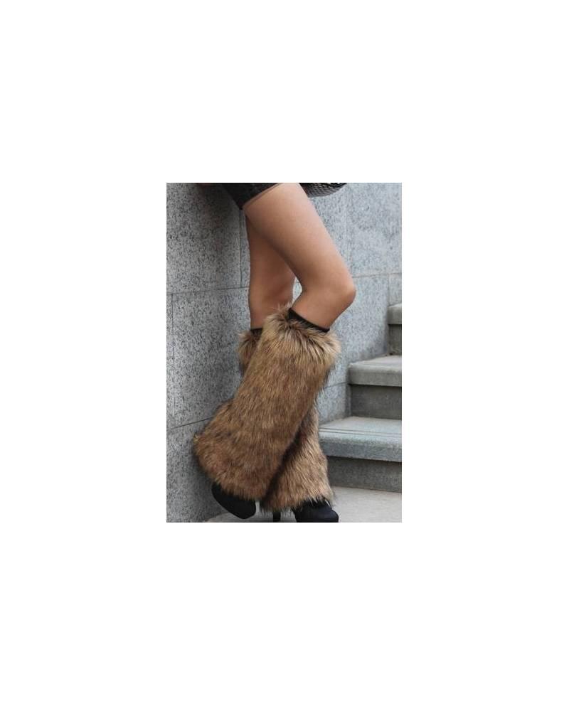 Fur Leggings