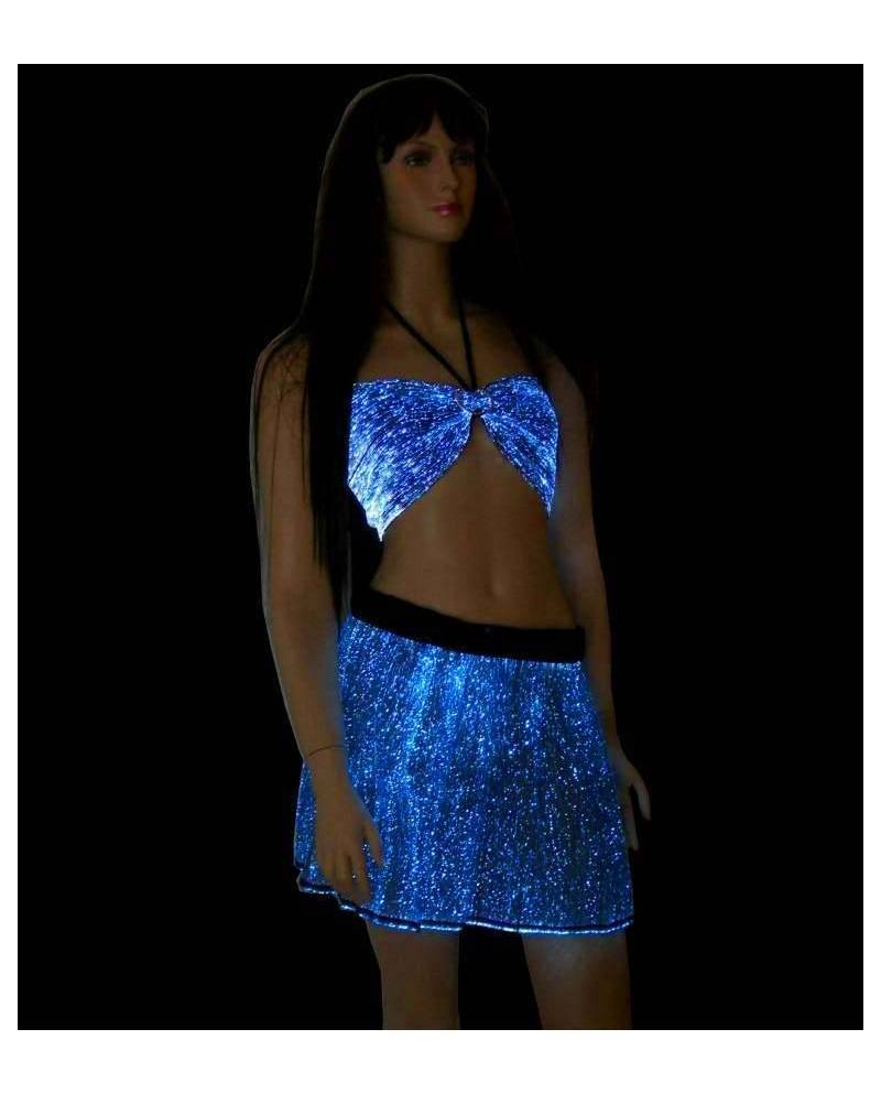 Fiber Optic Skirt Woman