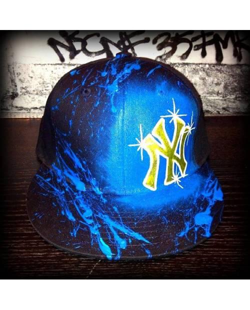 Casquette Bleue New York