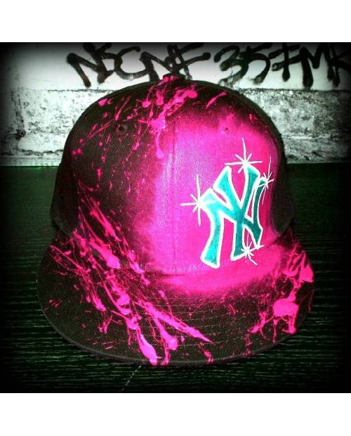 Casquette New York Rose