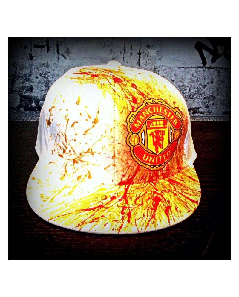 Casquette Dorée Manchester United