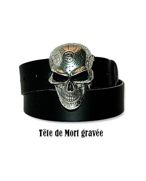 Ceinture Tête de Mort Mortelle ! 74b24099d7d