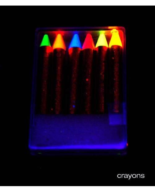 Maquillage Soirée : Gros Crayon Gras Fluo