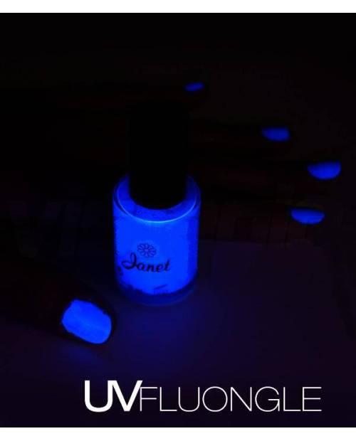 Vernis Fluorescent Couleur Bleu