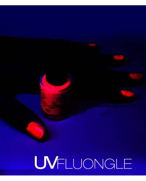 Vernis A Ongle Fluo Couleur Rouge Orange