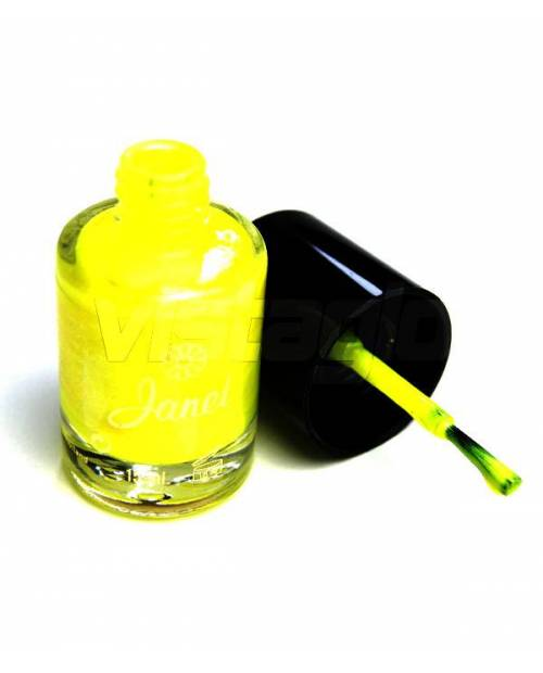 Varnished Pearl Neon Yellow