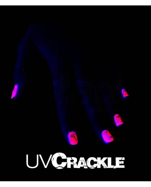 Cracked Nail Cheap Neon Pink