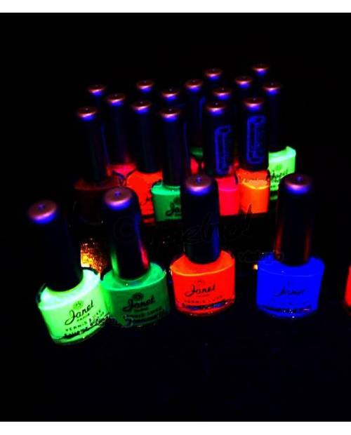 Kit De 20 Vernis A Ongles Fluo Assortis