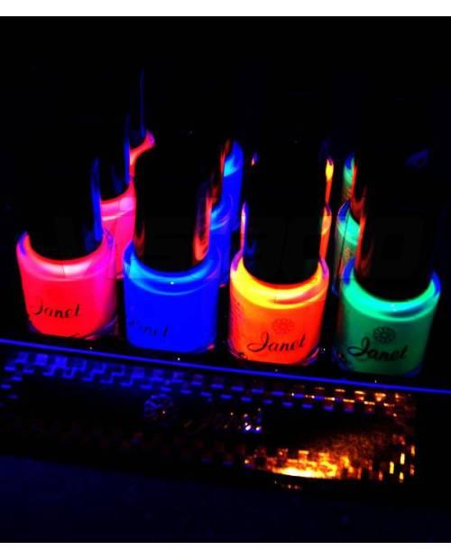 Lot Of 12 Neon Nail