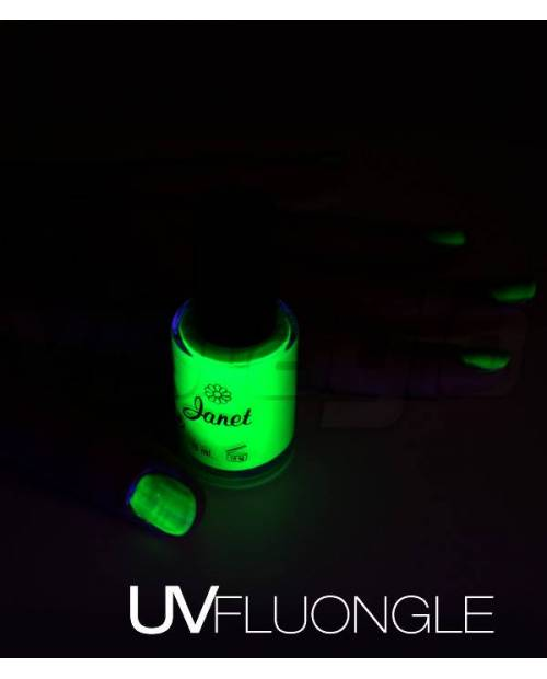 Vernis UV Vert Fluo