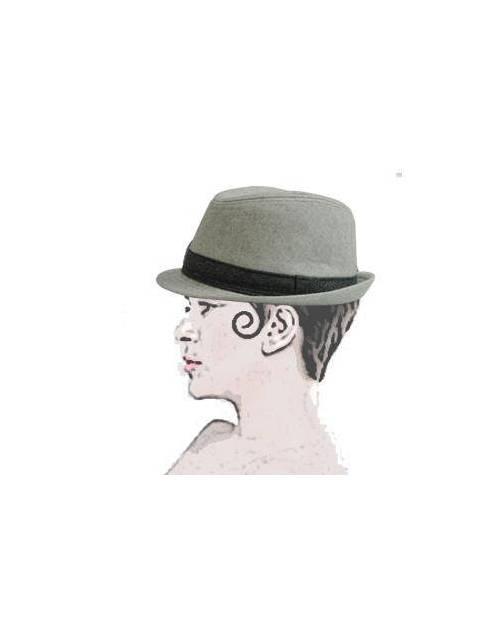 Chapeau Gris Homme