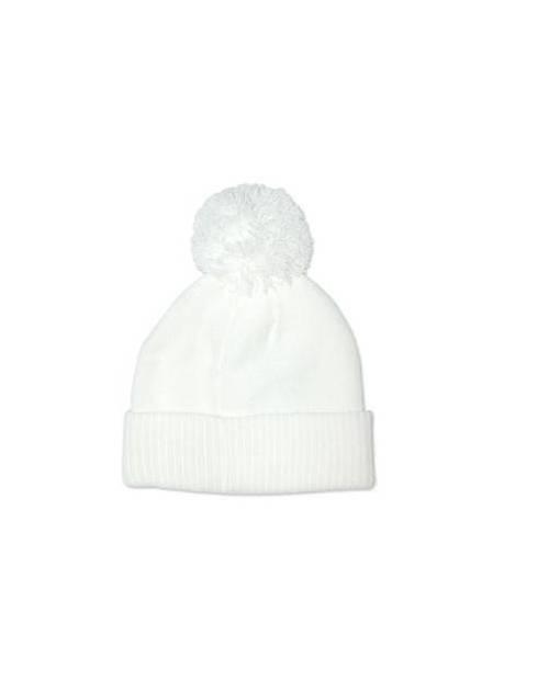 Bonnet neige blanc