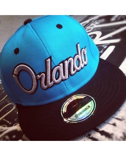 Casquette Snapback Orlando Gris Rouge