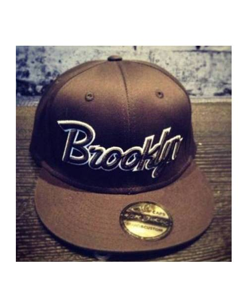 Casquette Snapback Brooklyn Marine Gris