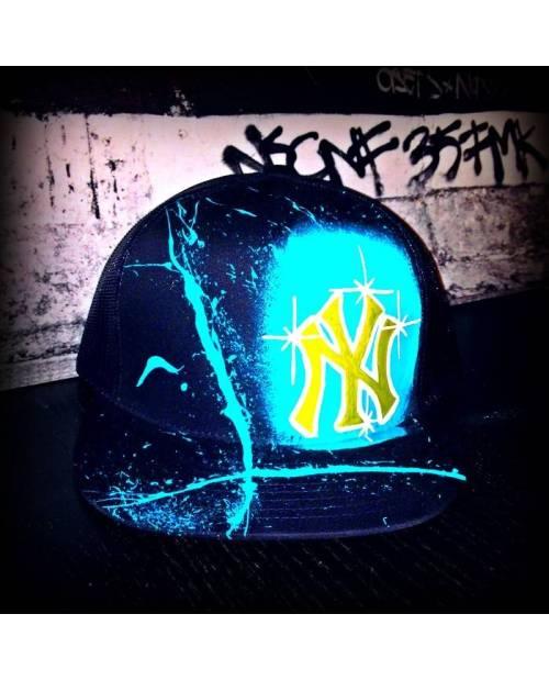 Casquette Yankees Bleue