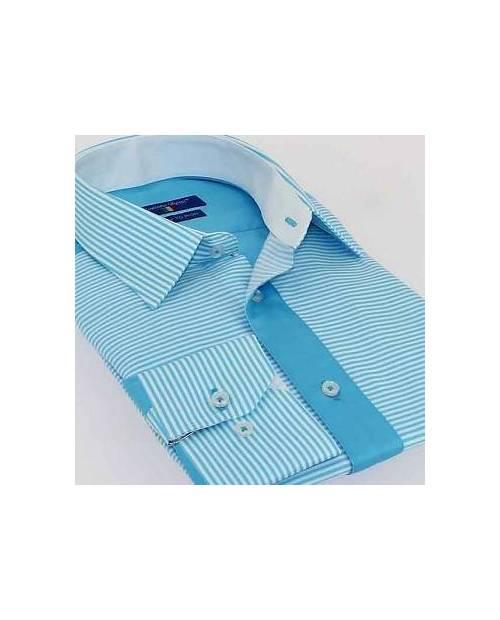 Chemise Italienne Bleu