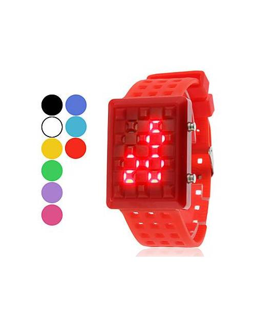 Montre Fashion Led : Inox