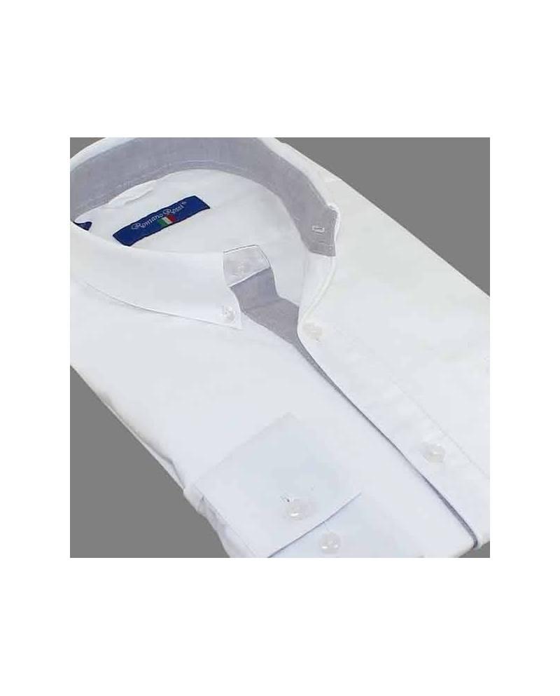 White Shirt Men's Fashion