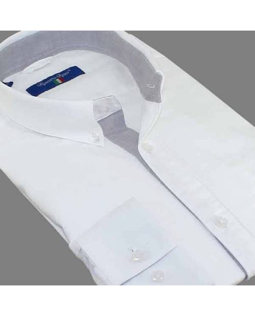 White Shirt Men's Fashion