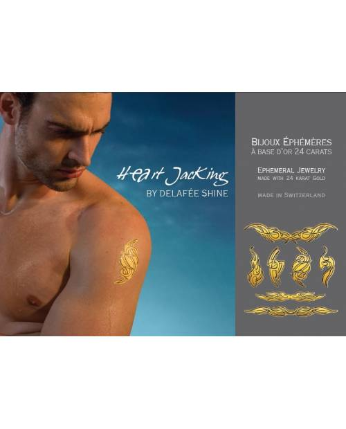 Tribal tattoos Gold: Tribal Collection