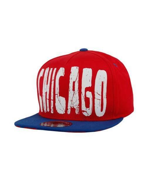 Casquette Rouge Chicago