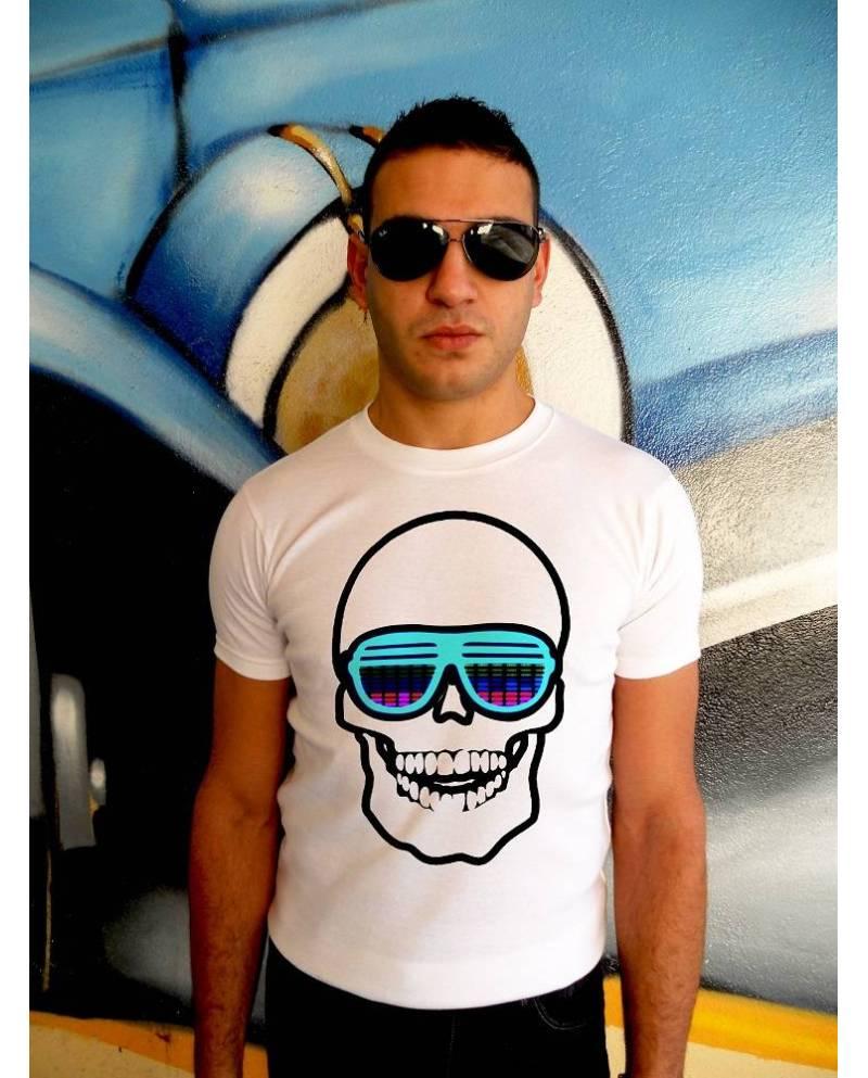T Shirt Electroluminescent Tqualizer Sunny Glasses