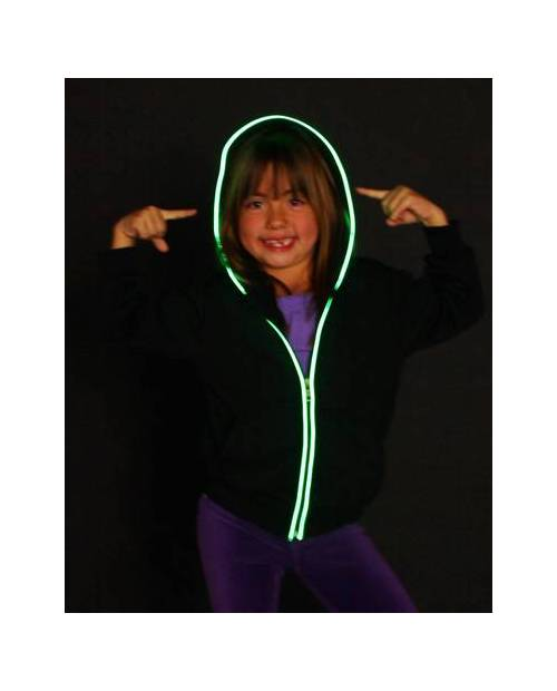 Gilet Fluorescent Led Enfant Mixte