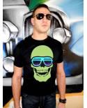 T Shirt Tete de Mort Laser
