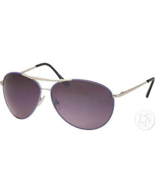 Aviator Sunglasses Silver Frame