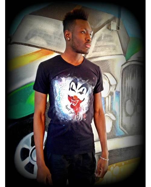 Création Tee Shirt Personnalisé : T Shirt Graff Clown