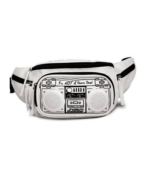 Fydelity Boom Box Stereo Bum Bag