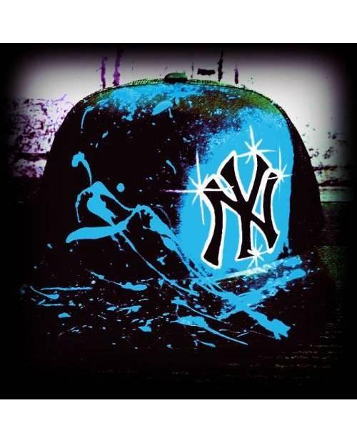 Casquette graffiti NY personnalisable