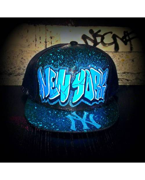 Casquette Trucker Filet New York
