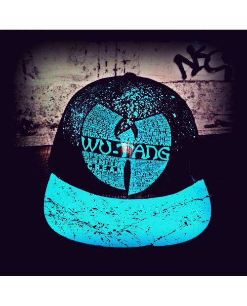 Casquette Tisa Wu Tang Bleue