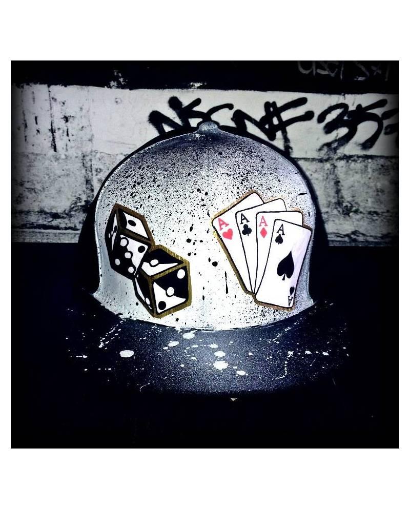Casquette Poker cartes dés