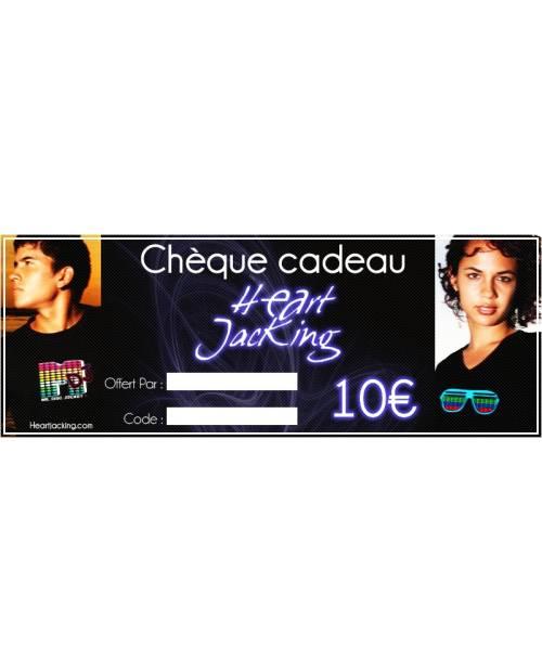 Chèque cadeaux 10euros